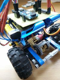 Samochód RC DIY - Lego + Arduino
