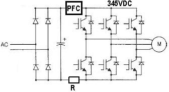 Pomiar pr�du falownika silnika BLDC (pr�du sta�ego bezszczotkowego)
