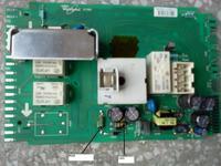 Whirlpool AWE 4519/P - Wartości elementów na module