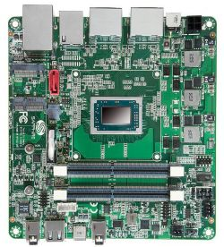 FS-FP5V - jednopłytkowy komputer Mini-STX z Ryzen V1000 i 4 wyjściami DP