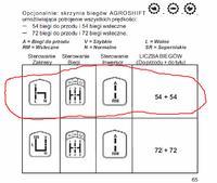 Srzynia biegów AGROSHIFT - Lamborghini Formula Same Antares Hurlimann i inne