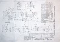 AutoCAD - Oznaczenie czopu.