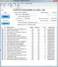 FUJITSU MJA2500BH G2 500GB - Partycja niedost�pna (windows chce formatowa�)