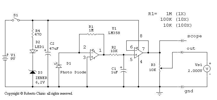 lm358 схема - Проверенные схемы.