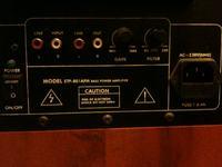 Połączenie Sony STR-DE497 i Alphard ETP-801 APM