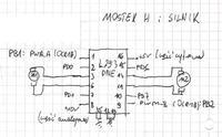 [atmega8L][c] - Regulacja prędkości obrotowej silnika.