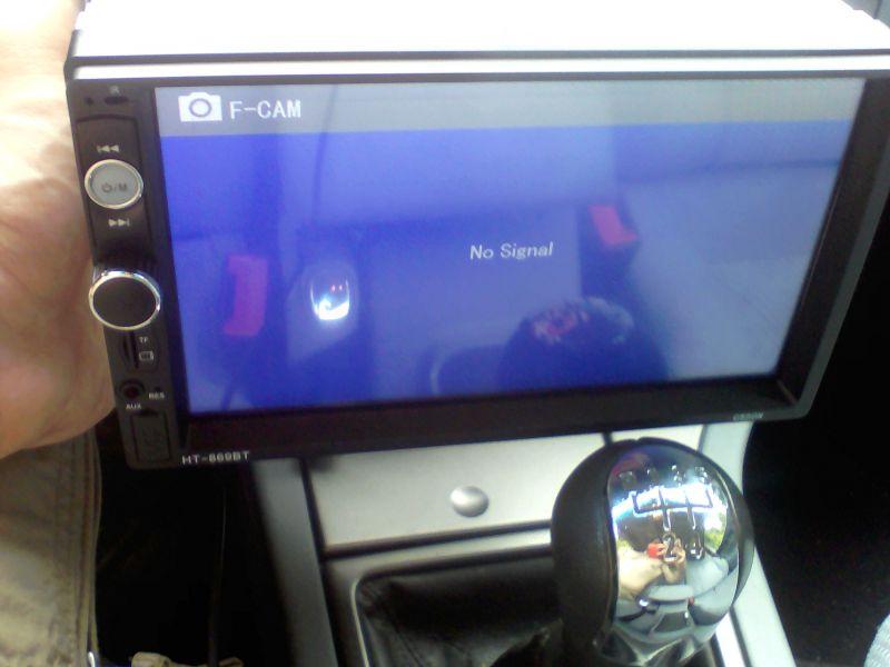 - Kamerka samochodowa vordon nie chce działać.