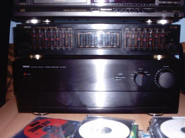 Zmiana wzmacniacza pod Tonsil Zeus -> Yamaha