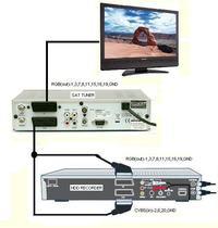 Nagrywarka Swisscom Bluewin TV300 - wymiana dysku