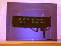 Nietypowy Zegar-budzik z pilotem II /USB/PC-WinAmp/Gadu-Gadu