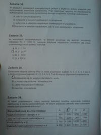 Egzamin zawodowy technik elektryk czerwiec 2009 werska X