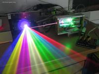 Tani laser RGB - po raz drugi