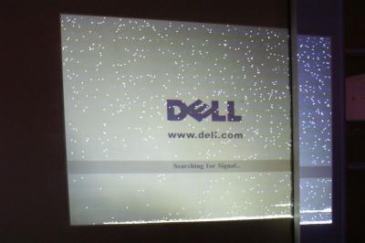 Projektor DLP DELL 3200 MP, brak obrazu