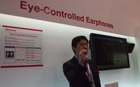 [MWC 2010] Słuchawki sterowane ruchem oczu