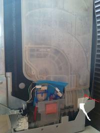 Zmywarka ZB-019 - Błąd f4 cieknie przez wentylator