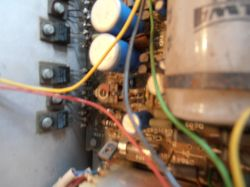 Tosca 303 prąd stały na wyjściu