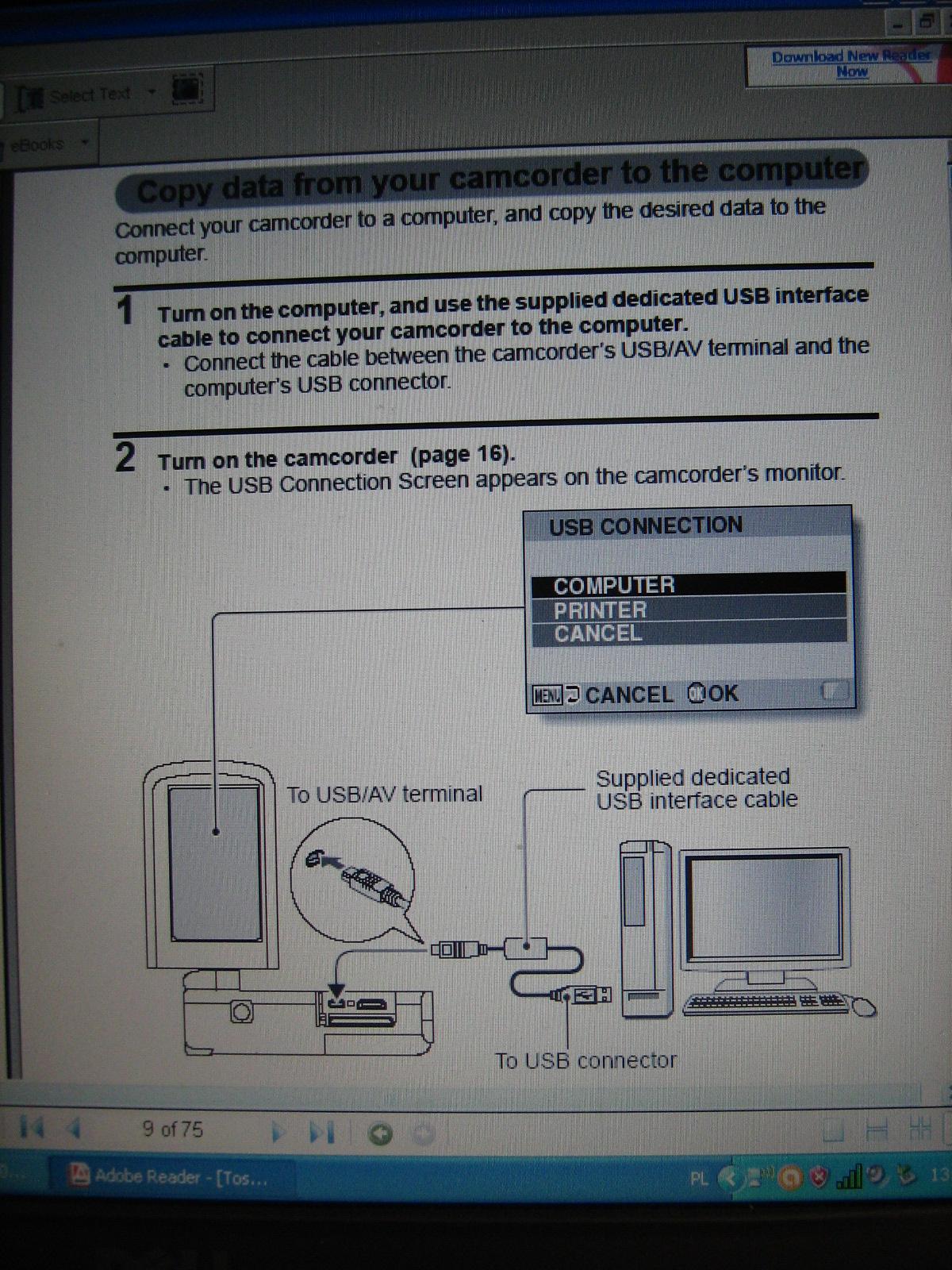 Kamerka Toshiba Camileo SX500,sterowniki