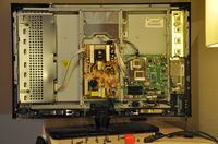 Samsung LE32N71B lta320ws-lh2 - Brak obrazu, dzwiek jest, podswietlenie tez