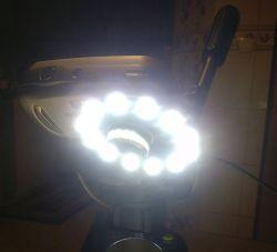 Mała przetwornica 5/12V do zasilania lampy pierścieniowej by bsw