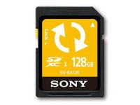 SONY SN-BA128 - karta pami�ci SDXC 128GB z oprogramowaniem do kopii zapasowych