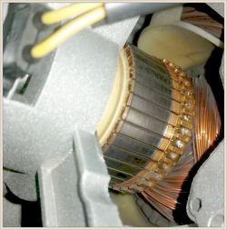 Amica AWX712DJB - silnik nie ruszył do wirowania