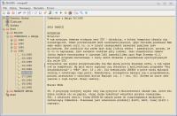 Notatnik dla Linux na zasadzie struktury drzewka
