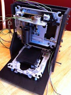 Maszynka CNC za 45$ ze złomu komputerowego