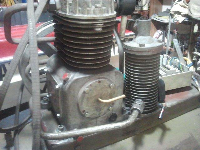 Wspaniały Kompresor WAN S1P-36 - dziwny element - elektroda.pl EO58