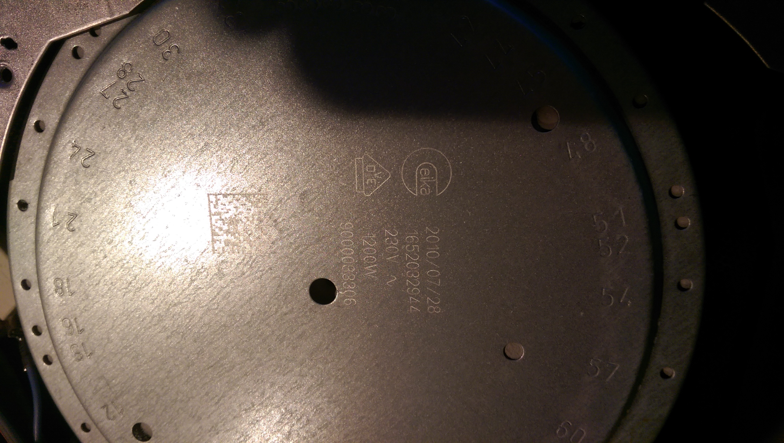 P�yta ceramiczna SIEMENS ET675TN11E - uszkodzenie grza�ki ?