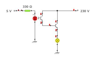 Sterowanie �wiat�em przez mikrokontroler z PWM
