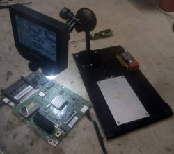 """PACHMET G600 Microscope with 4,3 """"LCD - made in china - Test / Review / Des"""