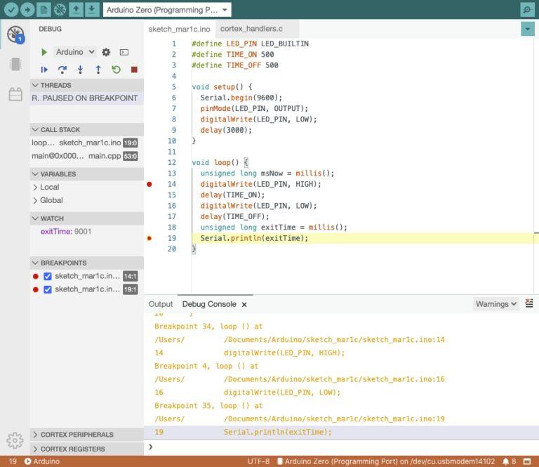 Arduino IDE 2.0 - debugger i nowy interfejs użytkownika