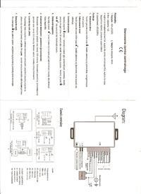 Napęd bramy Meritum 500 (Wiśniowski) - poszukiwana instrukcja