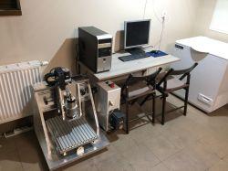 Konstrukcja aluminiowej obrabiarki CNC 200x250x150