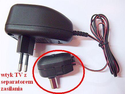 Antena dvb-t gaśnie dioda na wzmacniaczu antenowym