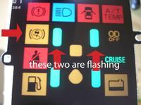 Mitsubishi Pajero - �wieci si� kontrolka
