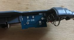 """Test i wnętrze """"lutownicy"""" na baterie ZD-20E 8W 4.5V z Chin"""