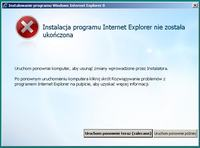 HP6730 - Nie mo�na zainstalowa� IE8 pod Windows XP SP3