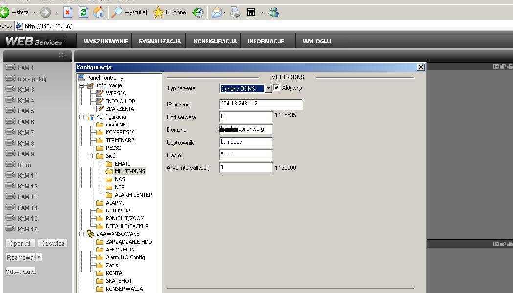 Rejestrator BCS router Asmax jak skonfigurowac