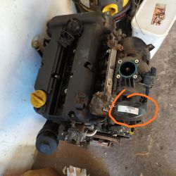 Gdzie znajduje się rok produkcji na silniku opla Z14XEP