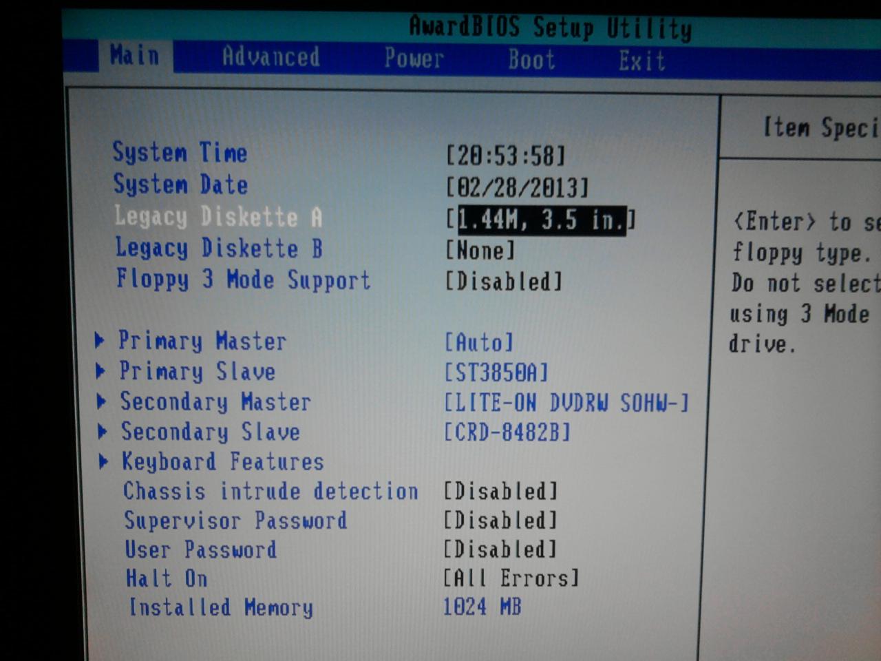 SAMSUNG R519 nie widzi nagrywarki SATA. laptop hp dv6705ew nie widzi w.
