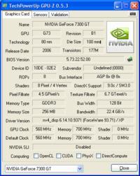 Karta Graficzna PALIT GF 7300GT DDR3 256MB/128BIT SONIC OC + Gwar.