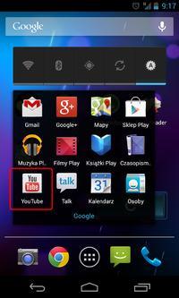 Skype i Youtube na android