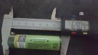 Różne rodzaje wymiarów baterii 18650.