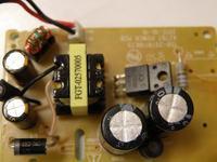 Przetwornica Philips AZ787 - spada napięcie pod obciążeniem