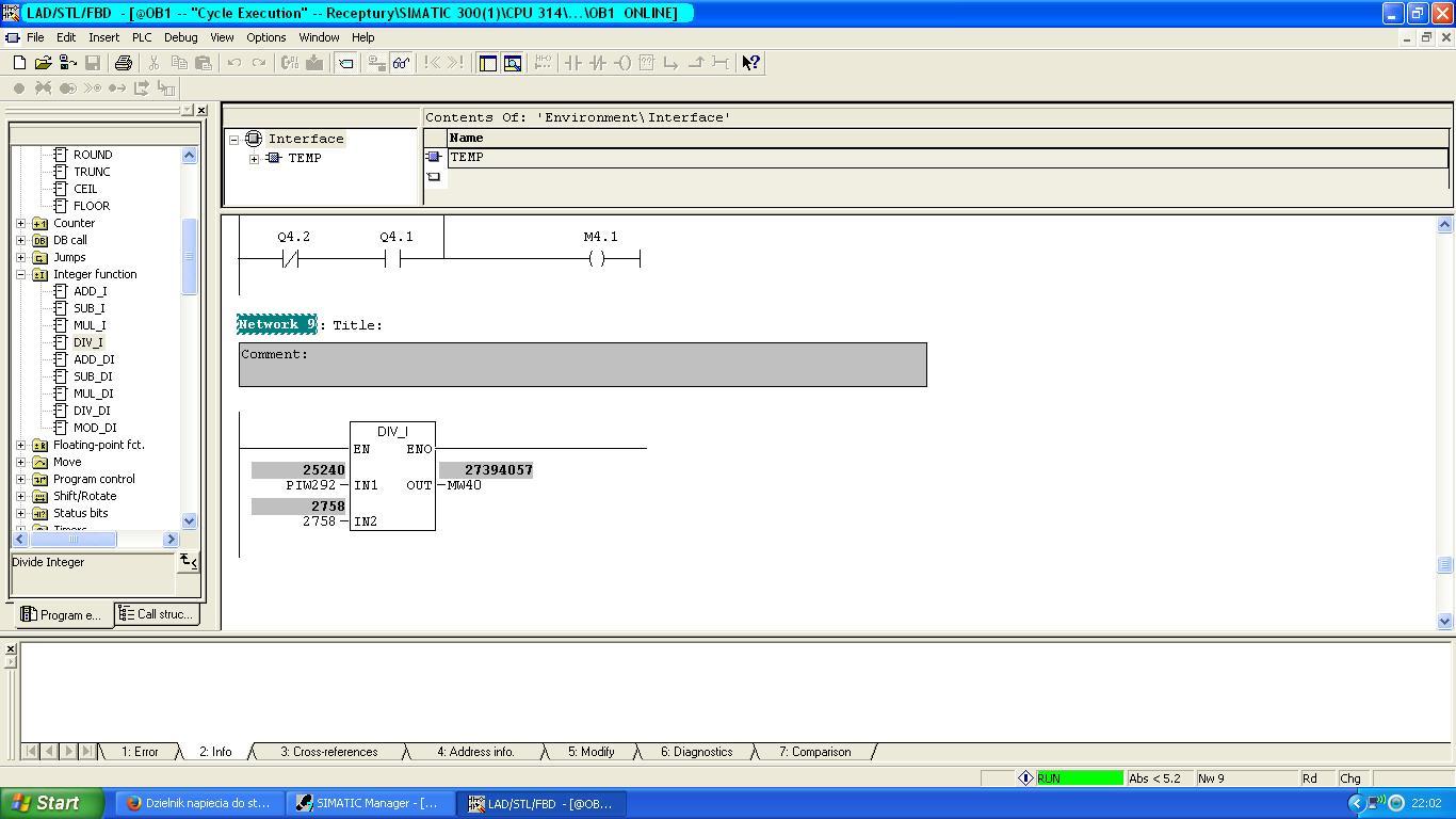 Dzielnik napiecia do sterowanie wej�ciem analogowym 0-10v DC SM334 SIEMENS