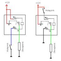 Włącznik którzy wytrzyma prąd rzędu 40A