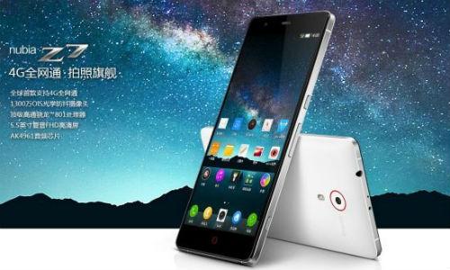 ZTE Nubia Z7 - 5.5-calowy smartfon z Qualcomm Snapdragon 801 za 1700PLN.