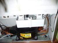 Lod�kwa INDESIT BAN 33 NF PS cz�ste oszronienie kana��w wentylacyjnych