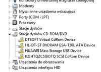 Huawei e3131 - Komputer nie czyta modemu